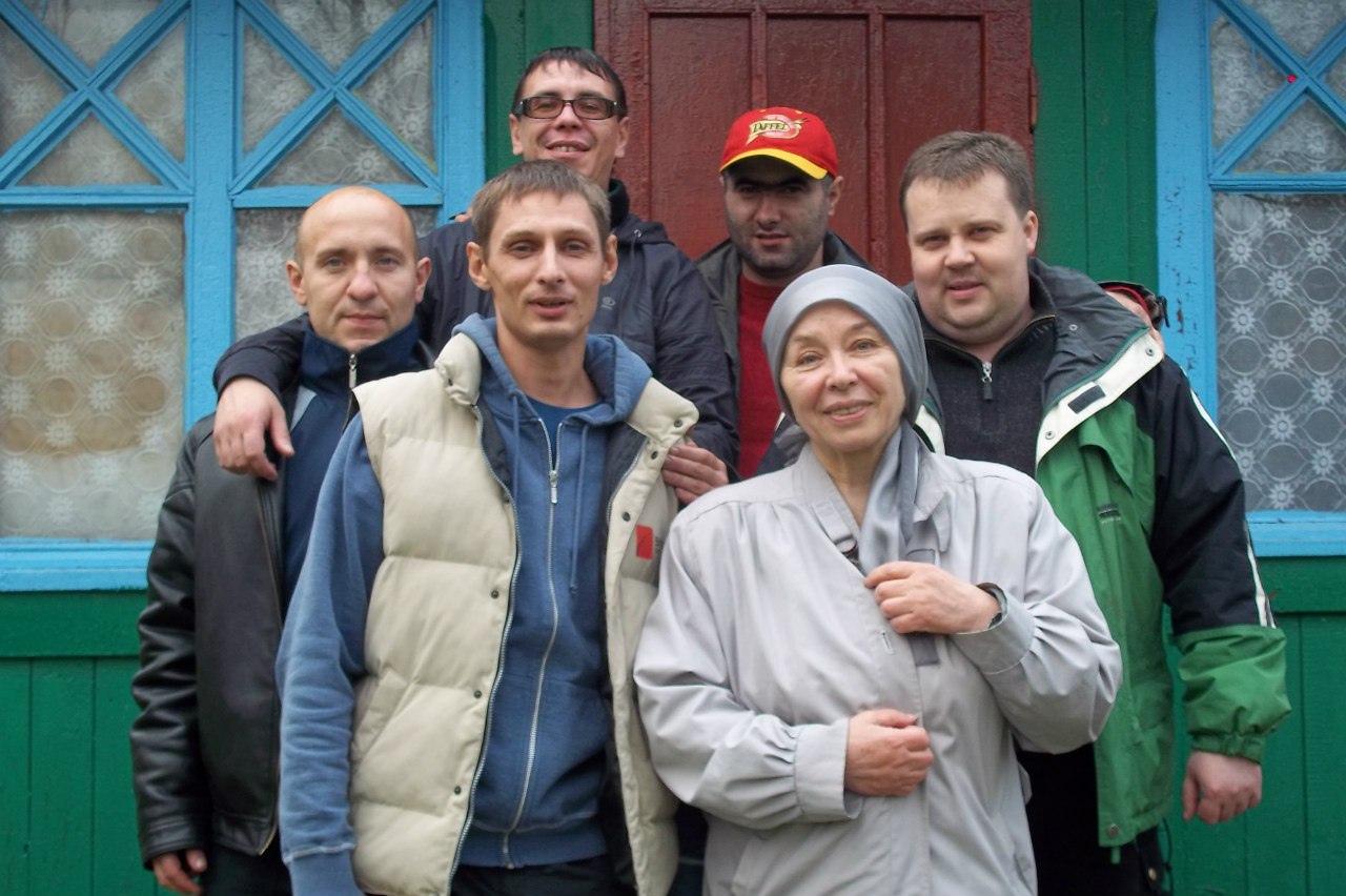 гости в Мурманском реабцентре