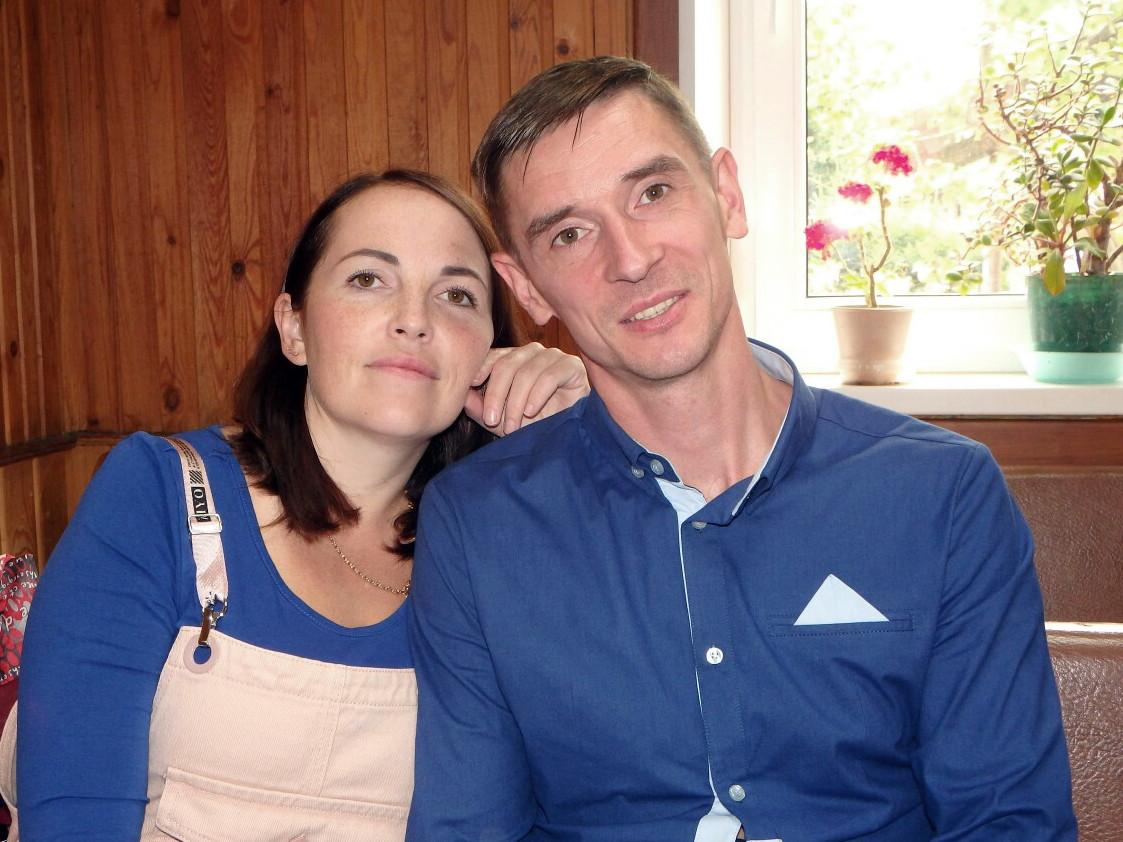 Михаил Кириллов с женой